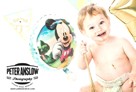 Cake Smash Photography in Burnley | Colne | Nelson | Skipton